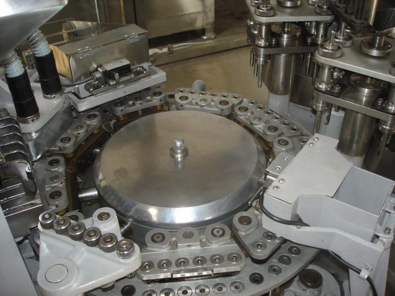 Encapsuladora automática usada