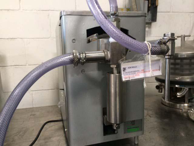 Envasadora manual para líquidos e pastosos