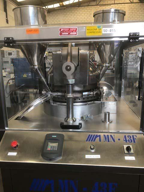 Máquina compressora