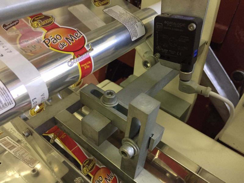 Maquina embaladora flow pack