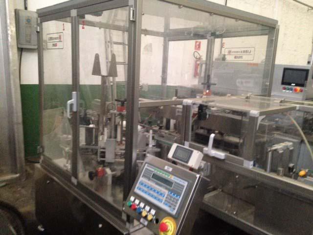Máquina rotuladora automática