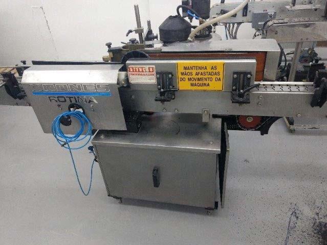 Maquina rotuladora industrial