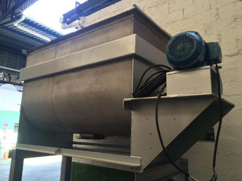 Misturador industrial para pó